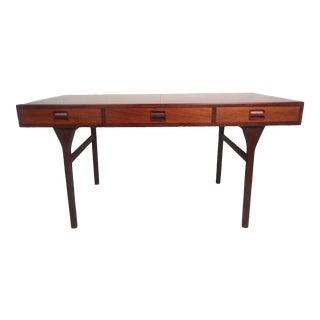 Nanna Ditzel Rosewood Writing Desk by Søren Willadsen Mobelfabrik For Sale