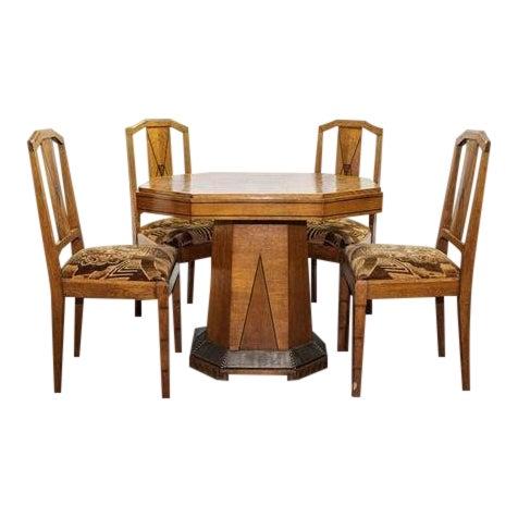 1930s Art Deco Dining Set Chairish