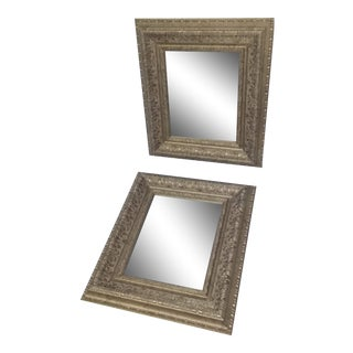 Vintage Matching Mirrors - a Pair For Sale