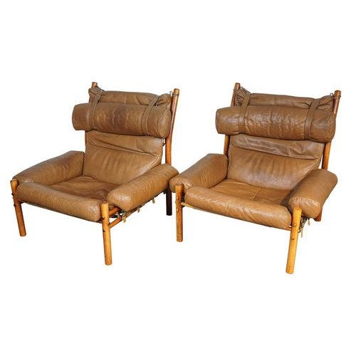 Arne Norell Inca Chairs - A Pair - Image 2 of 5