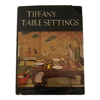 1960 Mid Century Modern Tiffany Table Settings by Tiffany & Co. Book For Sale