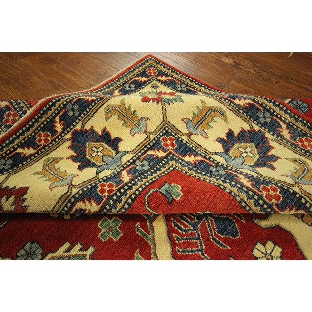 Traditional Super Kazak Rug Red- 8' x 11' - Image 9 of 11