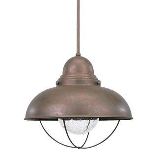 Sylvia LED Pendant, Copper For Sale