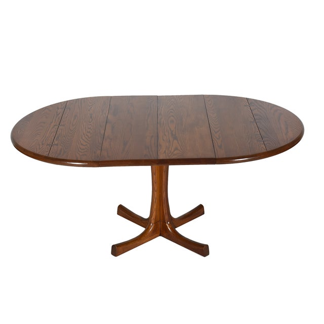 Conant Ball Conant Ball Round Pedestal Dining Table For Sale - Image 4 of 6