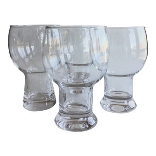 Vintage Beer Glasses - Set of 4