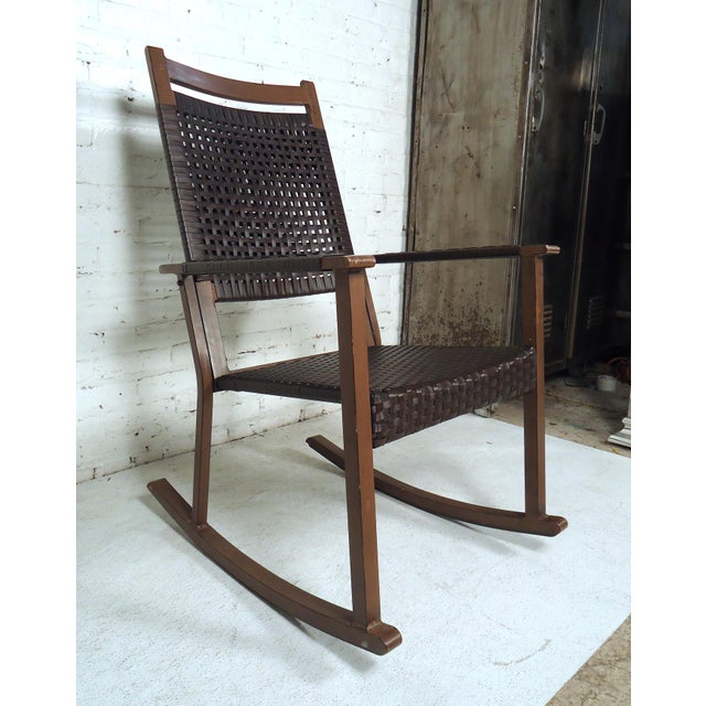Mid Century Modern Style Rocker For Sale - Image 10 of 10