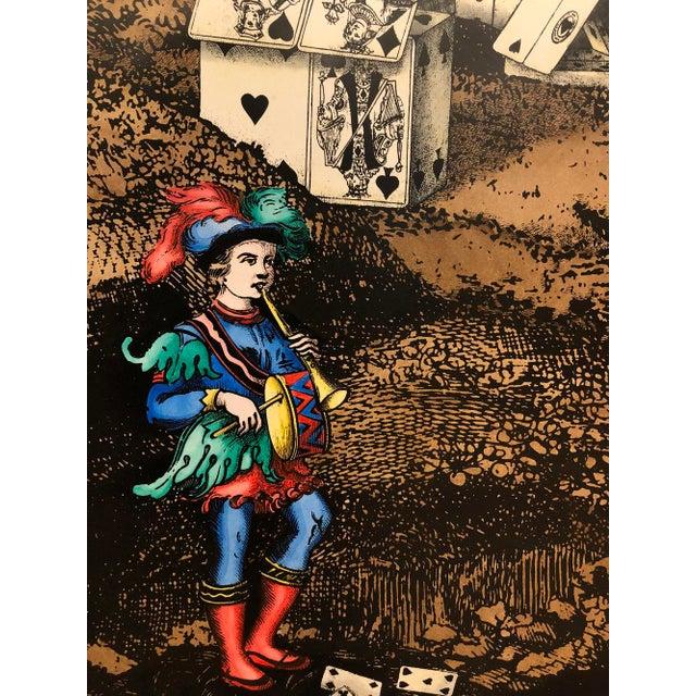 """Piero Fornasetti """"Citta' DI Carte"""" Folding Screen by Piero Fornasetti For Sale - Image 4 of 6"""
