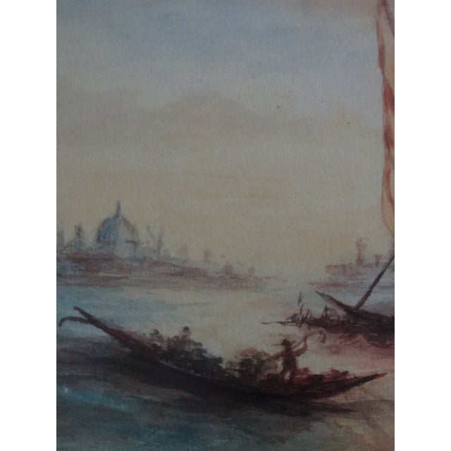 Impressionism Seascape Painting, the Grand Canal, Venice - Image 4 of 6
