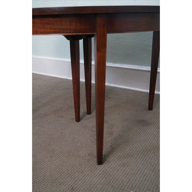 Vintage Solid Mahogany Extension Dining Table - Image 6 of 10
