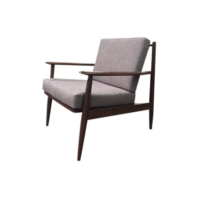 Mid-Century Style Custom Made Chair - Image 1 of 4