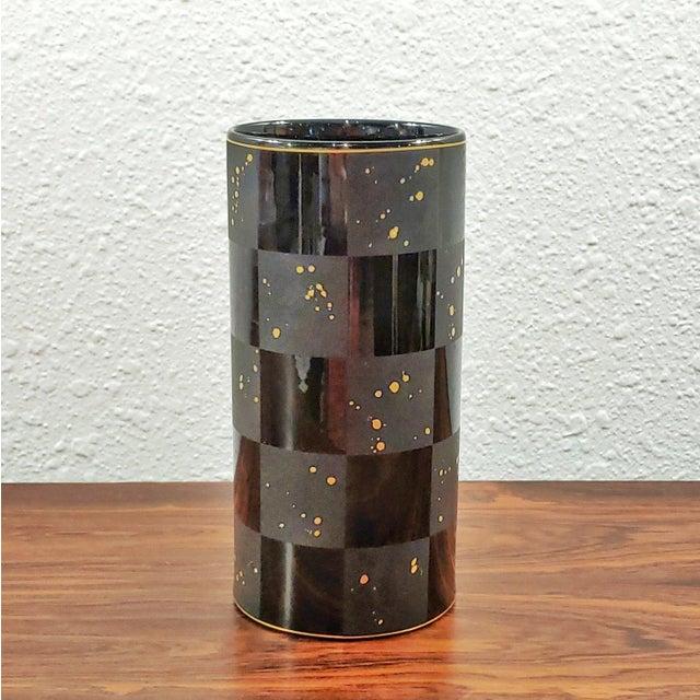 1990s Frogen Yang and Elsa Fischer-Treyden 'Carré D'or' Porcelain Vase for Rosenthal For Sale In Austin - Image 6 of 6