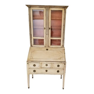 18th Century Painted Secretary For Sale