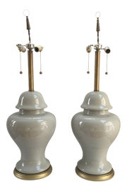Image of Celadon Table Lamps