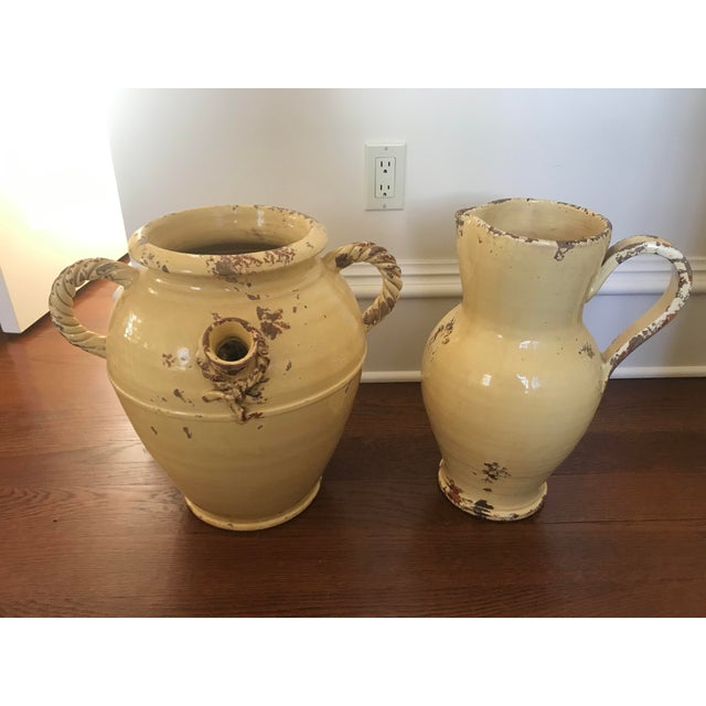 Tuscan Urn and Pitcher - a Pair For Sale - Image 9 of 9