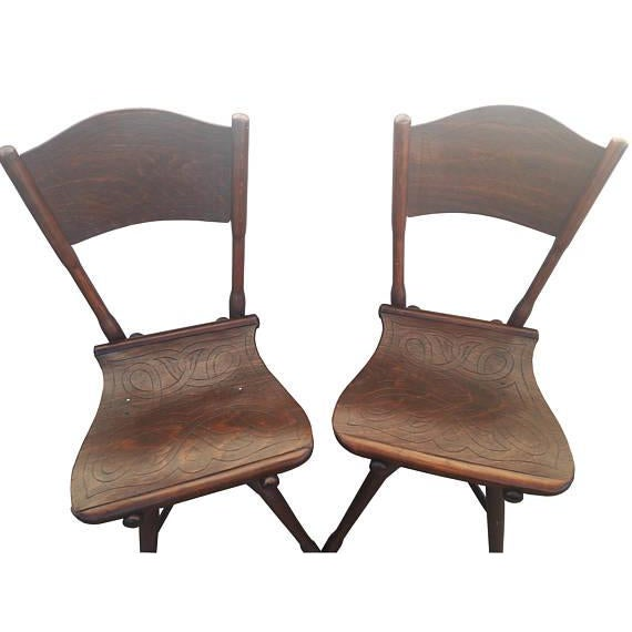Cottage Antique Thonet Garden Chairs - Set of 4 For Sale - Image 3 of 10