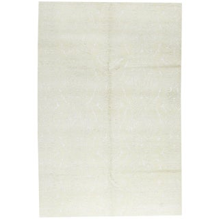 """Contemporary Hand Woven Rug - 5'11"""" x 8'10"""" For Sale"""