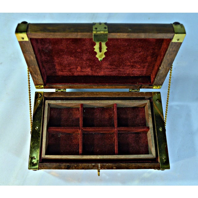 Japanese Wooden Jewelry Box - Image 4 of 10