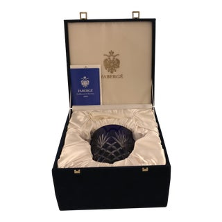 Faberge Odessa Ice Pail & Tongs, 2003 Collector's Society For Sale