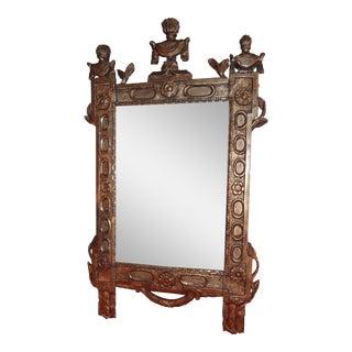 18th Century Italian Gilt Wood Mirror For Sale