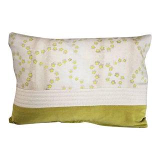 Kim Salmela Citrus Patchwork Pillow For Sale