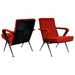 Friso Kramer Repose Pair of Fauteuils, 1969
