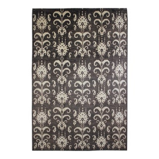 """Aara Rugs Inc. Hand Knotted Ikat Rug - 14'4"""" X 11'6"""" For Sale"""