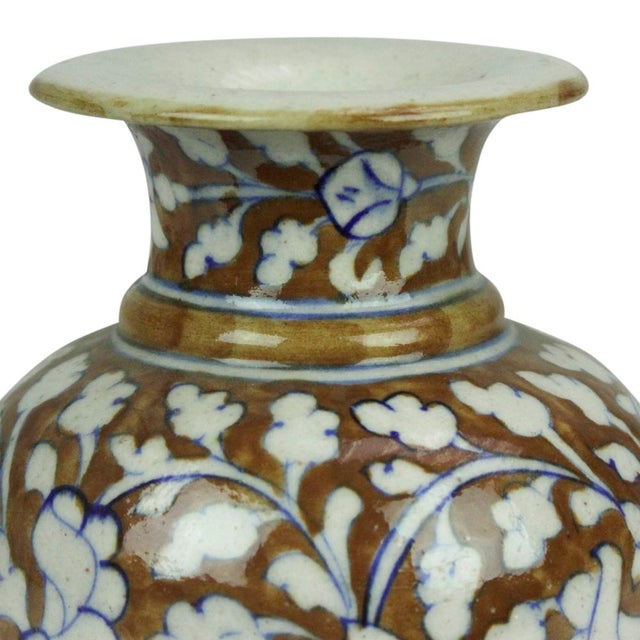 Small Jaipur Vase For Sale - Image 4 of 4