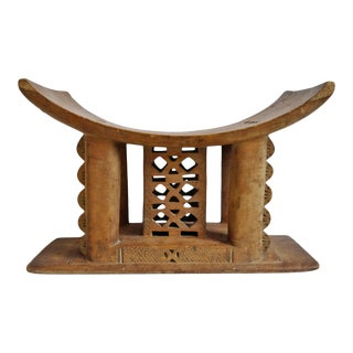 Vintage Asante Chief Stool For Sale