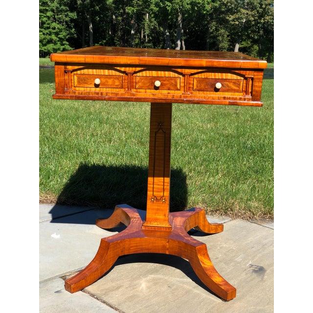 Orange Side Table, Biedermeier Period For Sale - Image 8 of 11