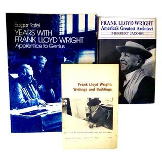 Frank Lloyd Wright Vintage Books - Set of 3