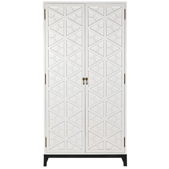 Maharadshcha Hutch, Solid White For Sale