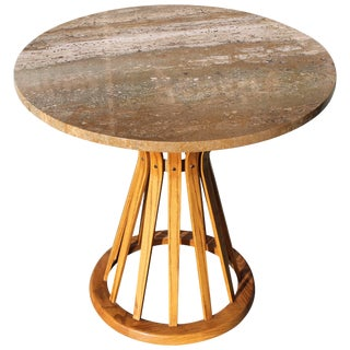 Large Sheaf of Wheat Table Designed by Edward Wormley For Sale