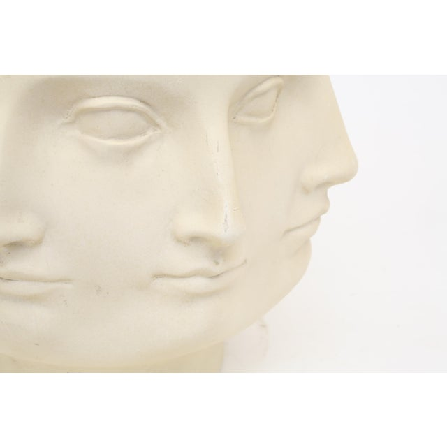 Abstract 2005 TMS Fornasetti Style Perpetual Dora Mara Face Vase For Sale - Image 3 of 7