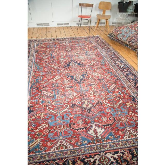 "Distressed Heriz Carpet - 8' X 11'2"" - Image 5 of 10"