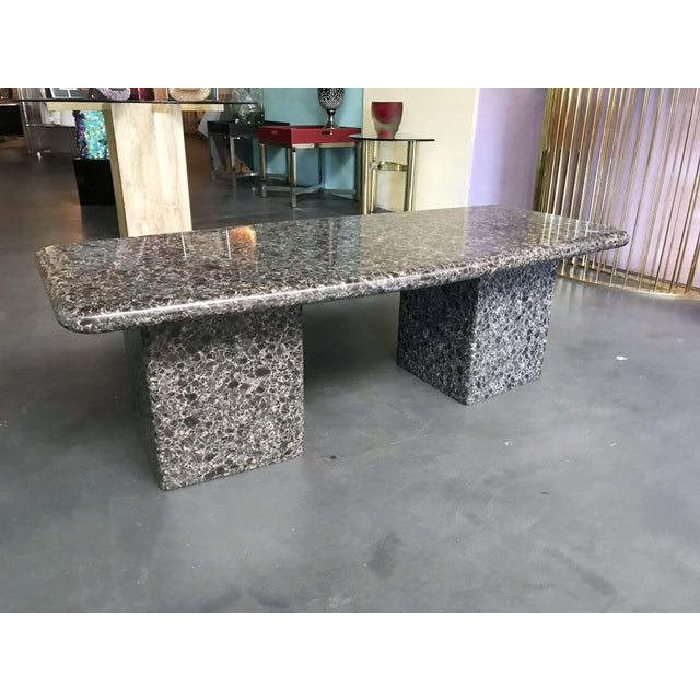 Mid-Century Granite Coffee Table For Sale In Palm Springs - Image 6 of 11