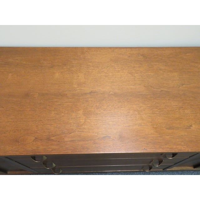 Wood 1960s Mid-Century Broyhill Brasilia Lowboy Credenza For Sale - Image 7 of 12
