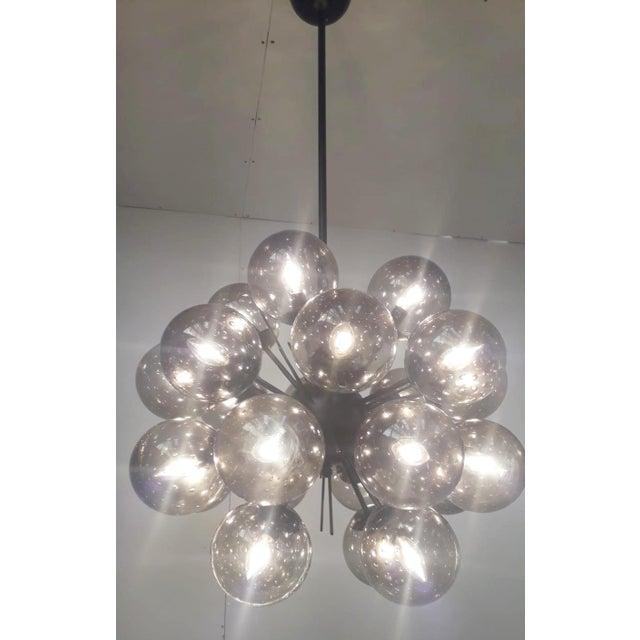 Fabio Ltd Ventiquattro Sputnik Chandelier by Fabio Ltd For Sale - Image 4 of 10