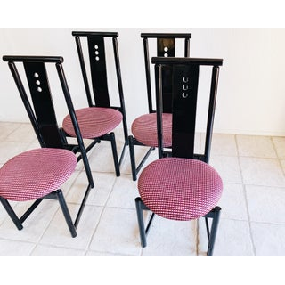 1980sPostmodern Dining Chairs- Set of 4 Preview