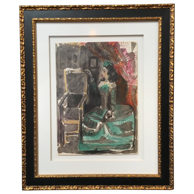 Picasso Untitled #2 Unsigned Print - Image 1 of 4