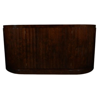 20th Century Art Deco Walnut by Switzer Sideboard Cabinet For Sale