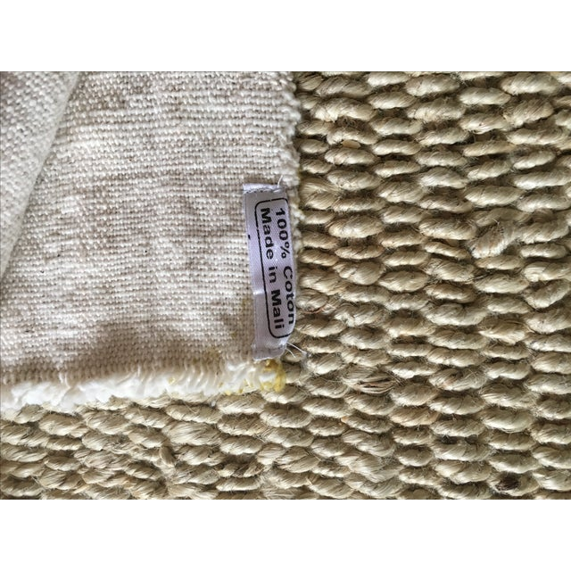 Mali Gold Block Textile / Mudcloth For Sale - Image 5 of 6