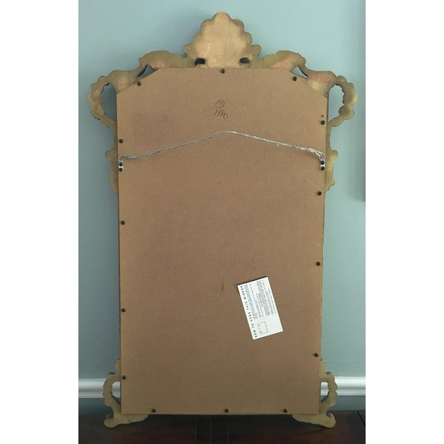 1970s Vintage Rococo Style Shell Motif Gilt Mirror For Sale - Image 5 of 5