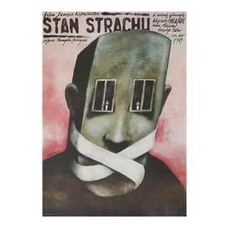 State of Fear 1989 Polish B1 Film Poster For Sale