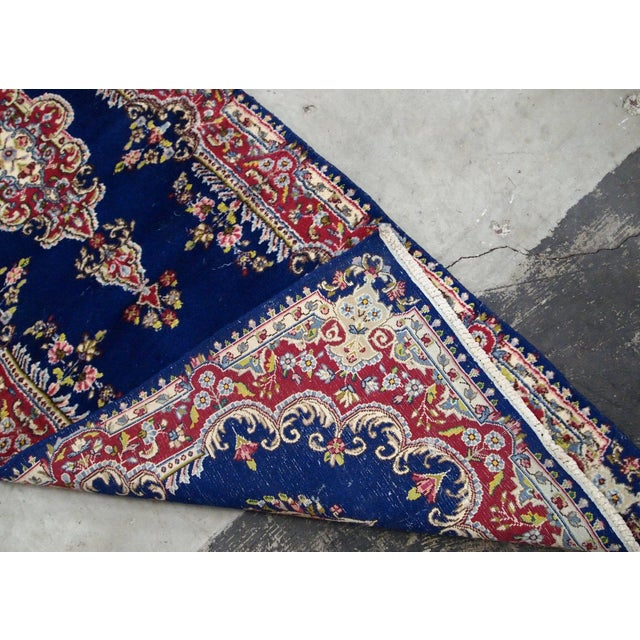 Islamic 1930s, Handmade Antique Persian Kerman Runner 2.5' X 8.1' For Sale - Image 3 of 9