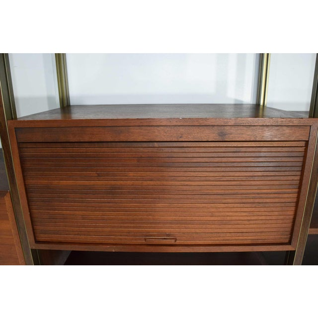 Metal Large Five Bay George Nelson Omni System For Sale - Image 7 of 13