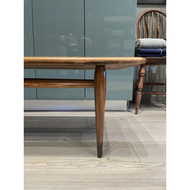Wood MCM Lane Acclaim Coffee Table With Ash Dovetail Detail For Sale - Image 7 of 8