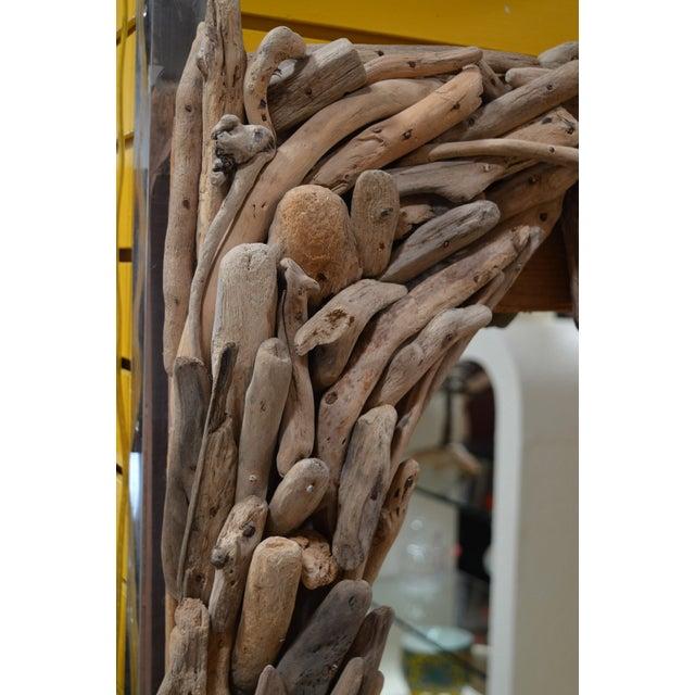 California Modern Driftwood Mirror - Image 4 of 4