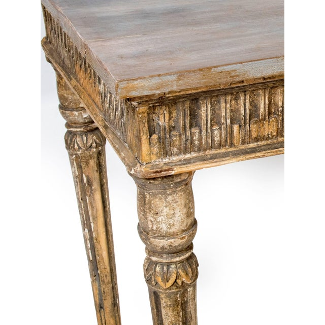 Mid 19th Century Gilt Italian Console Table For Sale - Image 5 of 6