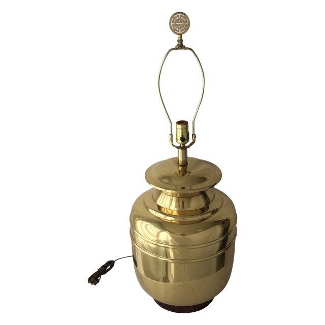 Vintage Brass Lamp For Sale In Cincinnati - Image 6 of 6