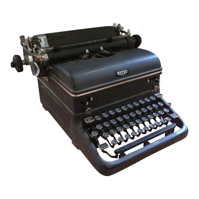 1930s Royal Typewriter For Sale